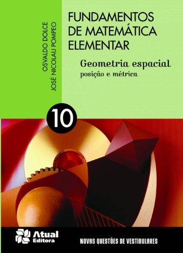 Fundamentos de Matemática Elementar - Volume 10