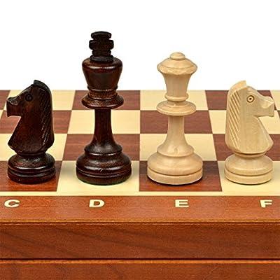 "Tournament No. 5 Staunton Chess Set - 19.3"""