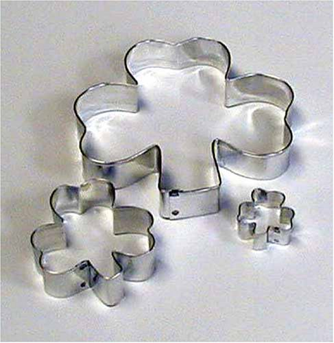 Shamrock Cookie Cutters - Set of - Cookie Patty Cutter St
