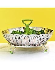 Steamer Basket Stainless Steel Veggie Steamers Basket