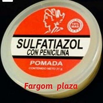penicilina 3 pomadas SULFATIAZOL CON PENICILINA POMADA 27 GRS