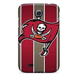 Anti-Scratch Cell-phone Hard Cover For Samsung Galaxy S4 With Unique Design Trendy Tampa Bay Buccaneers Series IanJoeyPatricia