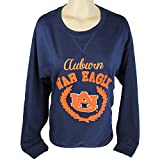 Glitter Gear Auburn Tigers Official NCAA Oversized Sweatshirt W/Embroidered Logo S by