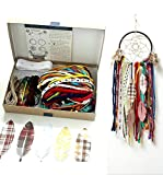 Colorful Make Your Own Dream Catcher Craft Kit Do It Yourself Home Decor Project Gift In A Box