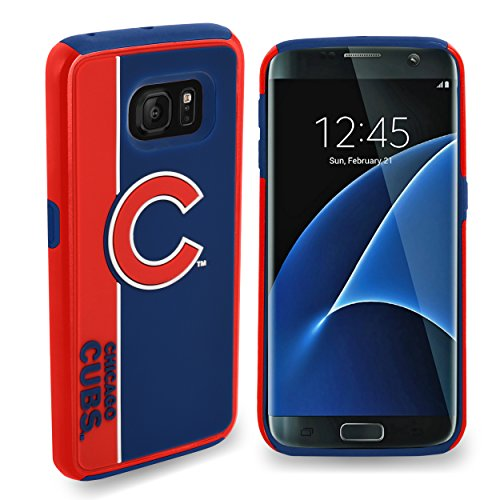 Forever Collectibles Samsung Galaxy S8 Dual Hybrid BOLD Case - MLB Chicago Cubs (Chicago Cubs Collectibles)