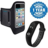 Captcha?? Lenovo Z2 Plus Sports Running Gym Armband Case Cover Holder with M2 Bluetooth/Health Fitness Tracker/Heart Rate Sensor(Multicolour)