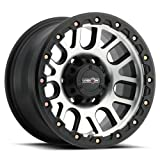 Vision Nemesis 18x9 Black Machined Wheel / Rim 6x135 with a 18mm Offset and a 87.1 Hub Bore. Partnumber 111-8936MF18