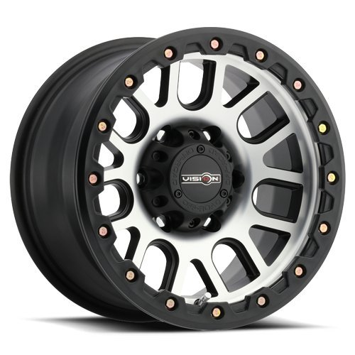 UPC 886821170579, Vision Nemesis 20x9 Black Machined Wheel / Rim 8x170 with a 10mm Offset and a 125.2 Hub Bore. Partnumber 111-2970MF10