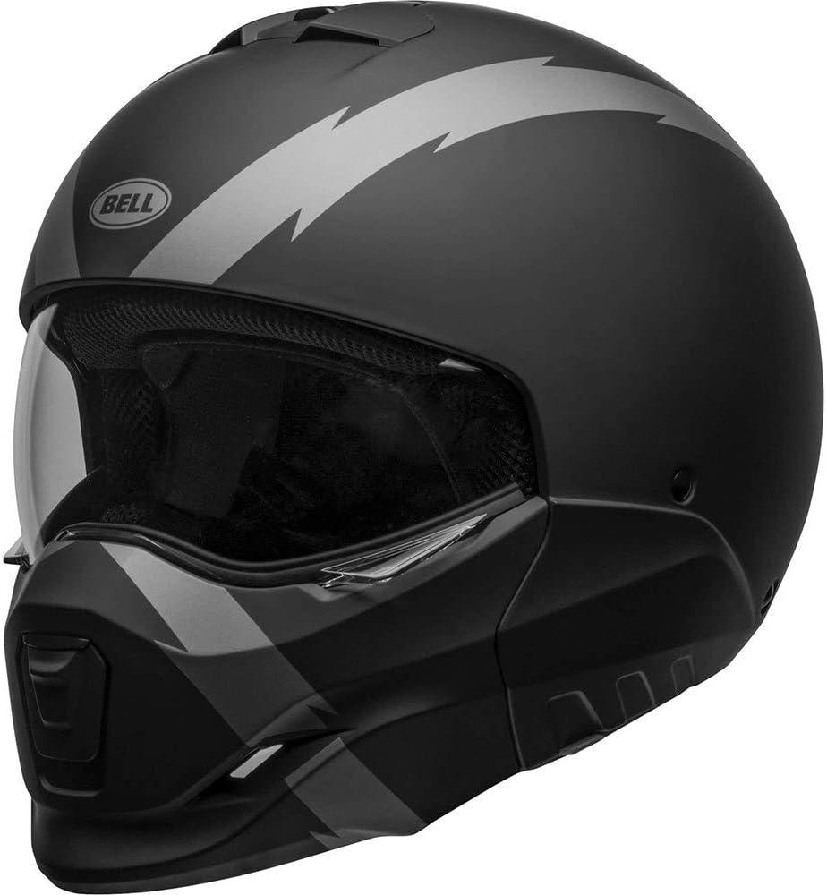 Bell Helmet Broozer Arc Matte Black Grey Xl Broozer Arc 70 Xl Auto