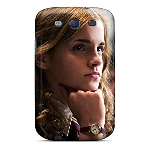 Best Hard Cell-phone Case For Samsung Galaxy S3 With Custom Colorful Hermione Skin RandileeStewart