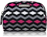 MILLY Diamond Zig Zag 9Cosmetic Bag,Shocking Pink,One Size