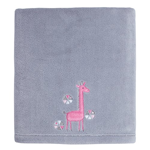 Bright Pink Pram Blanket - 4