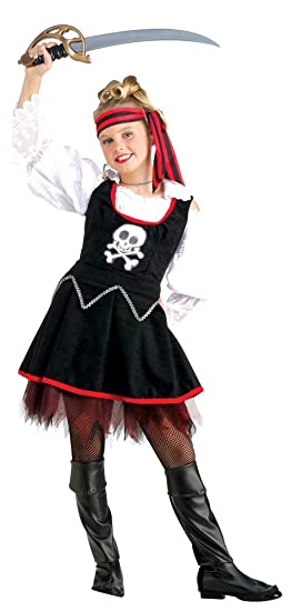 Girls Ship Mate Pirate Costume - Child Small  sc 1 st  Amazon.com : princess pirate costume  - Germanpascual.Com