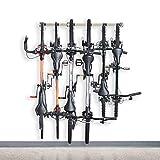 Monkey Bars Bike Storage Rack 2.0 - Store Up To 6 Bikes - 300lb Weight Capacity Garage Bike Rack