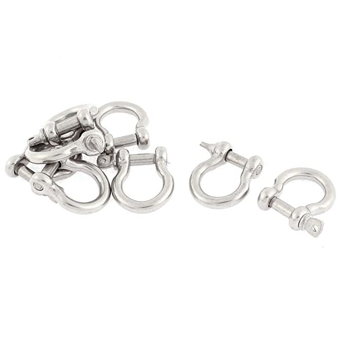 Uxcell a15121900ux1477 - Grilletes de acero inoxidable (8 ...
