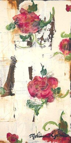 amazon com a rose is a rose ii by melissa lyons 8 x16 art print