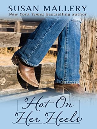 book cover of Hot On Her Heels