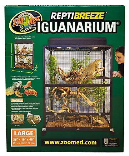 - Zoo Med Reptibreeze IguanArium