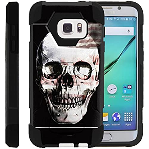 Galaxy S7 Case | SHOCK Series Impact Hard Rubber Durable Unique Creative Cover, Samsung S7 by Miniturtle - USA Skull Sales