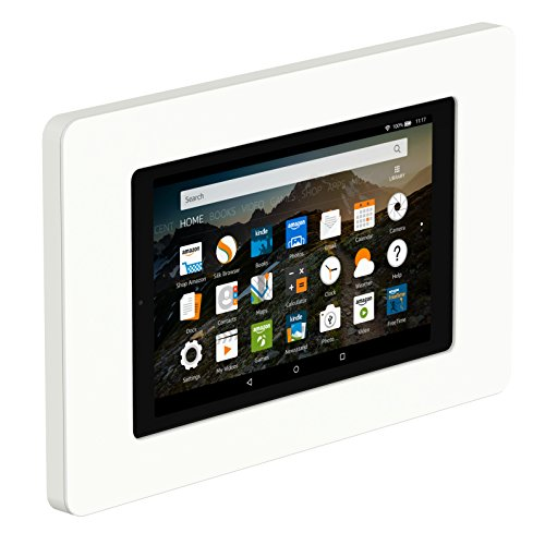VidaMount On-Wall Tablet Mount - Amazon Fire HD8 7th Gen - White (2017) by VidaMount (Image #9)