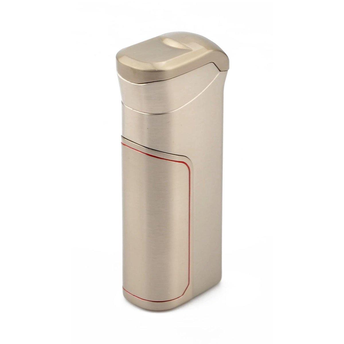 Oumosi Métal coupe-vent Briquet réutilisable double Arc USB léger avec 800mAh Capacité de la batterie pour la maison