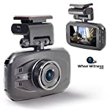 WheelWitness HD PRO Dash Cam with GPS - 2K Super HD - 170° Lens - 16GB microSD - Advanced Driver Assistance -...