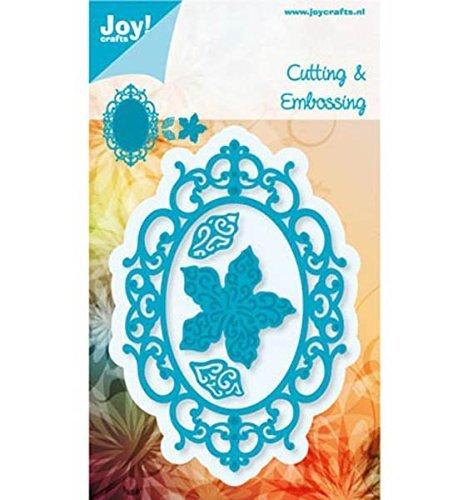 Joy Craft Die, Oval, Flower with Leaves 6002/0459