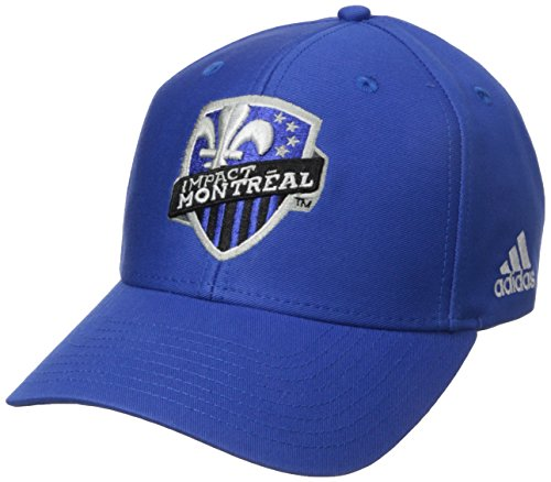 fan products of MLS Impact Montreal Men's Basic Structured Adjustable Cap, One Size, Blue