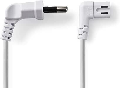 TronicXL - Cable de alimentación en ángulo para televisores y radios de Apple TV, Samsung, LG, etc. (5 m): Amazon.es: Electrónica