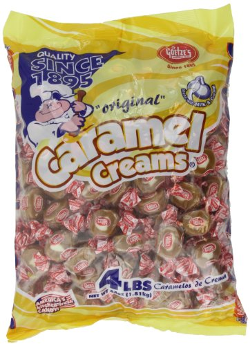 Goetze's Caramel Creams Candy Bag, 64 -