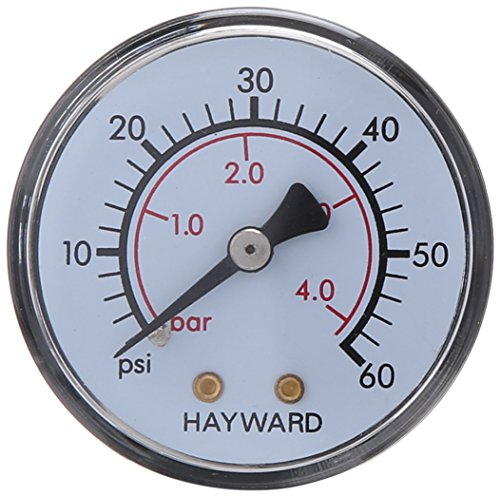 Hayward ECX2709A1 Boxed Pressure Gauge Replacement for Hayward XStream (Hayward Pressure Gauge)