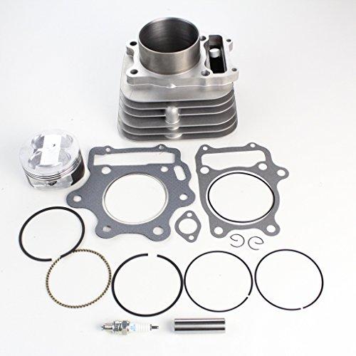 8TEN 330cc Big Bore Cylinder Piston Gasket Kit For Honda Sportrax TRX300X 1993-2009 Replaces 12100-HM3-L00