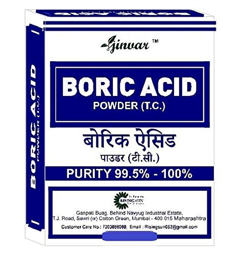 Jinvar's Boric Acid (Technical Grade) 200g – Pack of 2 Price & Reviews
