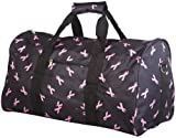 Cheap Breast Cancer Gym Duffle Carrying Bag 22-inch