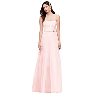 d5c268d8ffba Mikado and Tulle Long Bridesmaid Dress Style OC290026 at Amazon ...