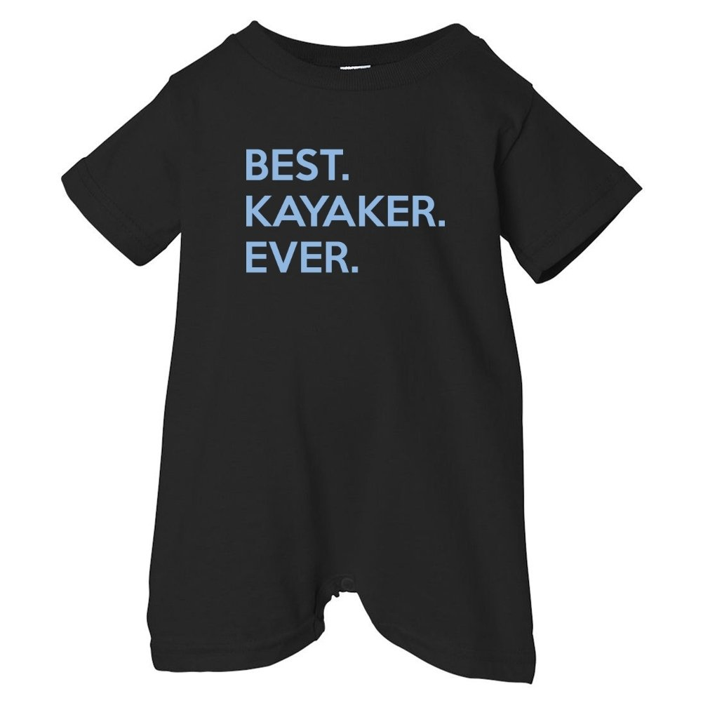 Mashed Clothing Unisex Baby Best Kayaker Ever T-Shirt Romper