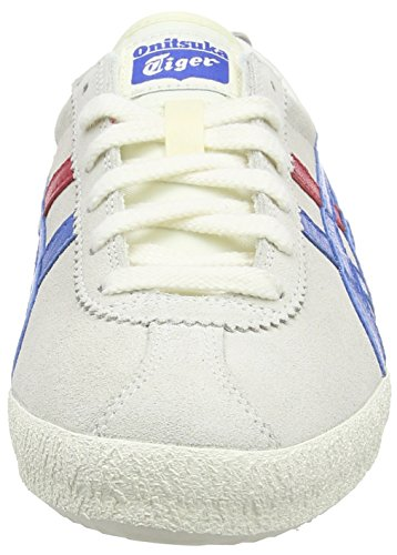 Onitsuka Tiger Mexico Delegation, Sneaker Unisex – Adulto Bianco (White (White/Blue 0142))