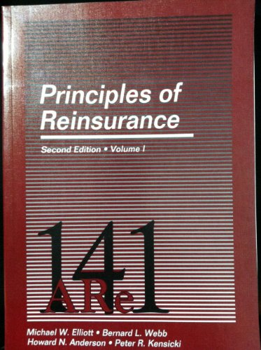 Principles of Reinsurance (Vol 1&2)(2nd ed) (Item # 14102 & 14103)