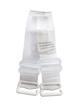e09415c114 Clear Invisible Bra Shoulder Strap - Metal Hook w  Plastic Cover