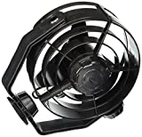 HELLA 003361012 '3361 Series' 24V DC 2 Speed Turbo Fan with Black Housing
