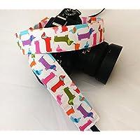 Dachshund / Doxie Dogs - SLR / dSLR Camera Strap - Nikon / Canon / Sony / Olympus / Samsung / Pentax