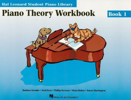 Piano Theory Workbook Book 1: Hal Leonard Student Piano Library (Piano Workbook Theory)