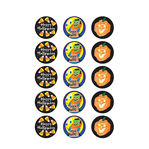 Trend Enterprises Halloween (Licorice) Round Stinky Stickers, Large (T-930) Photo #3