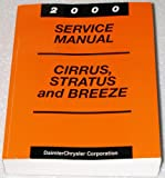 2000 Chrysler Cirrus, Dodge Stratus, Plymouth Breeze Service Manual (JA Platform, Complete Volume)