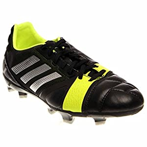 Mens Adidas Nitrocharge 2.0 TRX FG soccer cleats new, Black Electricity Q33671 sz 9