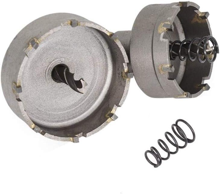 Hole Saws Core Drill Bit16-53mm Hole Saw Set Carbide Tipped Wood Metal Core Drill Bit Hole Saw Cutter (Color : 13pcs 16 53mm Set) 13pcs 16 53mm Set