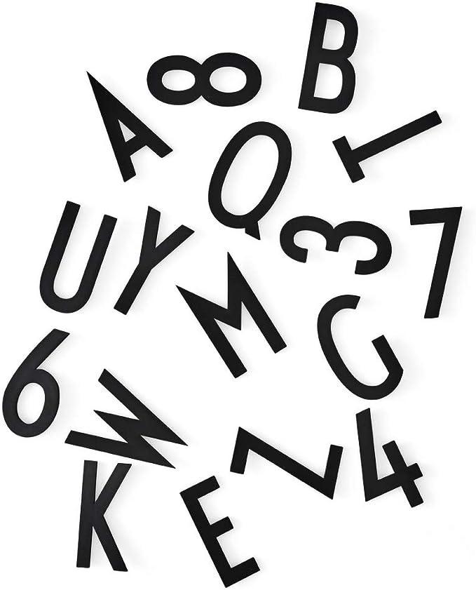 Blanc Set de lettres pour pegboard