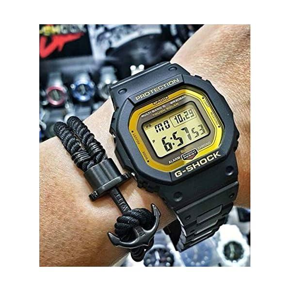 Casio Reloj Digital para Hombre de Cuarzo con Correa en Plástico GW-B5600BC-1ER 5