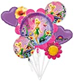Anagram International Tinkerbell Birthday Bouquet, Multicolor