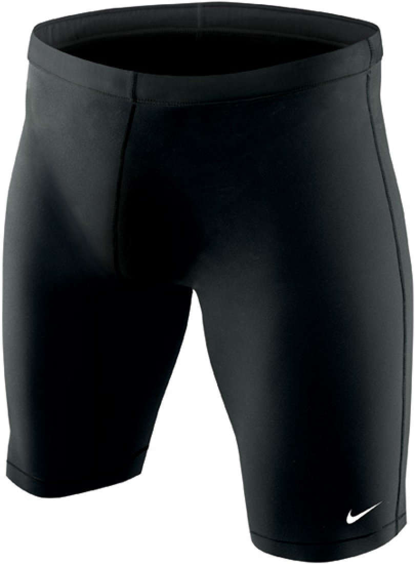 Nike Men's Nylon Core Solids Swim Jammer 32 Black by NIKE